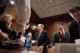 (NYT12) WASHINGTON -- March 27, 2006 -- IMMIG-CONGRESS-3 -- Senate Judiciary Committee Chairman...