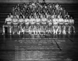 The 1975 Wheat Ridge High School track team. Hoskins is standing in the top row. Lee Kunz, one of...