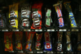 Vending machines at the Colorado State Capitol in Denver April 12, 2006.  (FILE PHOTO/ROCKY...