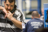 Inside the the Garfield County Jail, Illegal Immigrant Alfredo Vicencio-Sandoval makes a difficult...