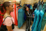 Prom Fashion on March 30, 2006 at FlatIron Crossing.  Three girls pick out their 3 favorite...