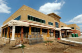 (ENGLEWOOD, CO. July 28, 2004) (LT. TO RT.) The exterior of what will be the Hampden Place Medical...