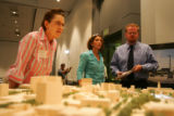 The long awaited plans for the redevelop and revitalization of Civic Center Park were unveiled to...