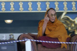 On September 17, 2006, the Dalai Lama addressed about 2000 people gathered at the Great Stupa at...