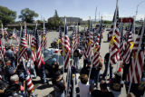 William Woody / Daily Press Members of the Patriot Guard Riders were in attendance at the Montrose...