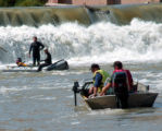 Tuesday September 5, 2006 Members of the Mesa County Search & Rescue Dive Team Search the...