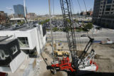 DLM01283   Construction has begun on the new location for the Museum of Contemporary Art on the...