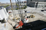 DLM01350   Construction has begun on the new location for the Museum of Contemporary Art on the...