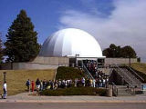 The Air Force Academy's planetarium