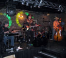 The Railbenders rocked the house after the Lucky in Love date auction action ended. (DAHLIA JEAN...