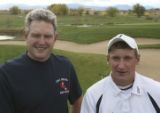 Kent Denver's Jerry Austin, coach of the year and Steve Ziegler, Legacy, player of the year....