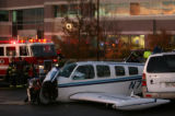 MJM344 On its way to Centennial Airport Tuesday night, an airplane carrying just the pilot crashed...