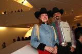 "(Denver, Colo., October 6, 2006) Renata and Steve Hill.  ""Hot DAM:  Party on the Edge,""..."