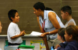 (MONTBELLO, COLO.- 8/4/04) At Ford Elementary School there has been a slight improvement in the...