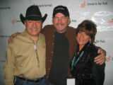 Walter Isenberg, left, Bill Engvall and Christie Isenberg. (DAHLIA JEAN WEINSTEIN/ROCKY MOUNTAIN...