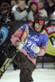 Torah Bright from Australia(cq )celebrates winning gold in the Women's Snowboard Superpipe ESPN...