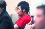 Jose Luiz Rubi-Nava sits in Douglas County court in Castle Rock on Monday September 25,2006....