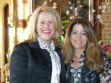(L to R) Hilary Johnson, Karen Wheeler, Co-Presidents Girls Inc. Alliance