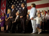 (DENVER, CO. JULY 23, 2004)  Jack Edwards, 3, son of vice presidential candidate John Edwards,...