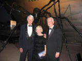 From left, Denver Art Museum Chairman of the board Frederic C. Hamiltion and his wife, Jane, join...