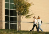 MJM696 Students returned to Platte Canyon High School in Bailey, Co. with their parents Wednesday...