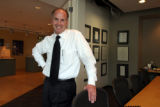 Brian Klipp (cq) at his architecture firm in Denver on Wednesday October 11,2006. Klipp is taking...