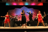 Jerry Barnett's band rocks the house at Dancing for a Cause. (STEVE PETERSON/SPECIAL TO THE NEWS)...