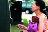 First day new parking kiosks are in use in the Cherry Creek shopping district. Looking for...