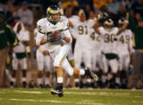 The Colorado State Rams' Dustin Osborn (#85, WR) hauls in a long touchdown pass after finding...