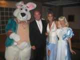 The 2006 Alice's Adventures in Wonderland-themed Booklovers' Ball included special guests the...