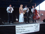 The Zephyrs performance was underwritten by Bark-B-Que sponsor, B & B for D.O.G. (HARRISON...