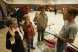 (Timeshot: 06: 48) Election judges for precinct 235 in Centennial take an oath 12 minutes  before...