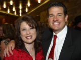 Advocates for Children former board Chairwoman Linnette Mancuso and her husband, Jay. (ADVOCATES...