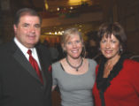 Red Wagon Ball 2006 honorees, from left, Pierre Lacroix, Valerie Lunka and Coco Lacroix. The...