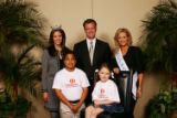 Jennifer Berry Miss America 2006, CEO & President of Children's Miracle Network Jim Hall, Miss...