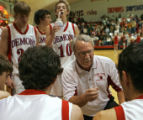 BUENA VISTA, CO :  Buena Vista High School boys' head basketball coach Robert Wood (cq) discusses...
