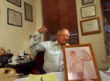 Trinidad, Colo., photo taken June 11, 2004- Dr. Stanley Biber who is responsible for making...