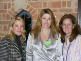 (L to R) Lauren Naylor, Sue Evans, Hillary Adams, Co-Chairs of Membership and Margartias 2007