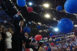 07/29/2004 Boston- John Kerry accepts the Presidential nomination during the Democratic National...