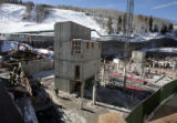 Work continues on construction of Vail's Front Door at Vail Village. It is part of the one billion...