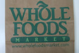 JM025 - Photos of Wild Oats & Whole Foods bags for illustration. Being used to illustrate the...