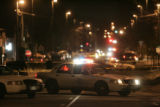 Denver Police block Bruce Randolph at Williams that is the scene of a drive-by shooting Thursday...