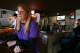 (DLM1363) -  Angie Godfrey, owner of Angie's Tavern in Golden, Colo., says business has dropped at...