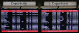MJM725  Screens at DIA on 12/20/06 show countless cancellations due to blizzard conditions.  The...
