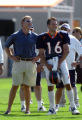 (DOVE VALLEY, Co., SHOT 7/30/2004) The Denver Broncos practice Friday morning during the third day...