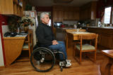 Artie Guerrero disabled Vietnam Veteran in his home, Monday October 9, 2006, 114 South Indiana...