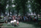Delta School Picnic by Keith Blue; From 1962 Kodachrome II transparency