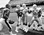 "(DENVER, COLO., 9/13/87) Seattle Seahawks rookie millionaire Brian ""The Boz"" Bosworth..."