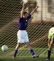 (JPM0454)  Fort Collins High School's junior Aaron Skipworth, #7, reacts to scoring his second of...