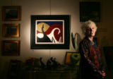 Portrait of Susie Brower, owner of Royce Galleries Ltd., who will close down her store after 33...